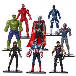 Avengers Age of Ultron Action Figures 8 pieces
