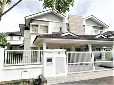 Double Storey Terrace Semi D House Taman Tasik Semenyih Tesco