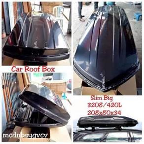 Car roof box slim big 420L 390L black universal