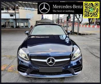 2019 Mercedes Benz C300 2.0 COUPE AMG LINE sedan