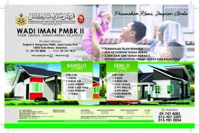 Banglo Setingkat Wadi Iman PMBK II Di Padang Siam Tanah Merah Kelantan