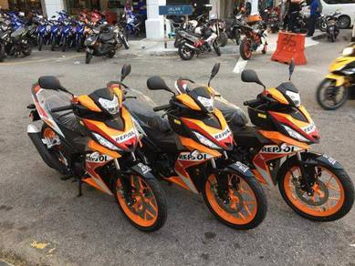 RS150 REPSOL (Ready Stock) Promotion Low Deposit!!