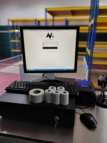 Mesin Cashier POS System Cash Register Borong 669