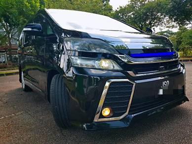 2014 Toyota VELLFIRE 2.4 Z G-EDITION FACELIFT (A)