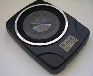 10 inci Under Seat Active Woofer Buith In Amp