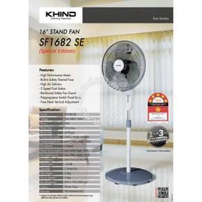 """Khind 16"""" stand fan ( motor 3 year warranty)"""