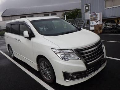 2014 Nissan ELGRAND 2.5 RIDER SUNROOF(A)
