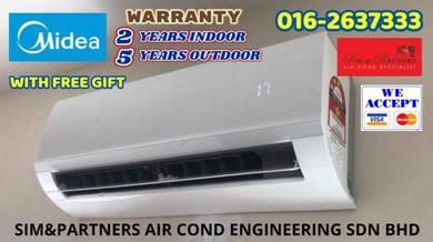 1.5hp Aircond Ionizer Antibacterial *Buy 1free 1