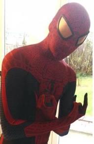 The Amazing Spiderman Costume 3D Cosplay