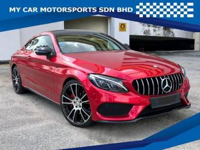 Mercedes Benz C250 2.0 COUPE AMG LINE