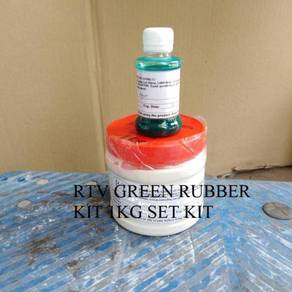 Silicone Rubber RTV GREEN RUBBER KIT