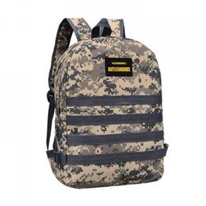 PUBG Backpack Army Canvas Unisex Student Bag 12