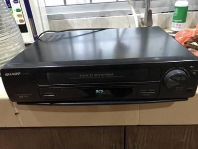 Vintage S H A R P VHS MA31