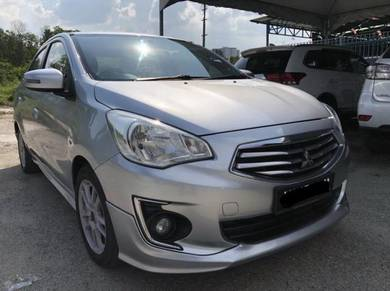 2014 Mitsubishi ATTRAGE 1.2 SE (A) FULL LOAN