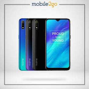 Realme 3 [32GB/64GB ROM] MY Set