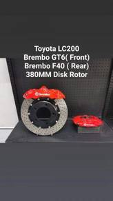 Brembo GT6, F40, E Brake ( Toyota LC200,202 )