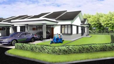Rumah TERES CORNER 1 TINGKAT, Tmn Bentara, Jln Kebun, TPG
