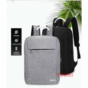 Unisex Bag Water Resistant USB Laptop Backpack 12