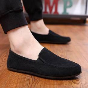 Men Shoes Slip-On Breathable Casual Canvas Shoes 5