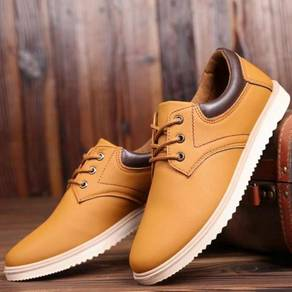Men British Style Leather Lace Up Shoes 11