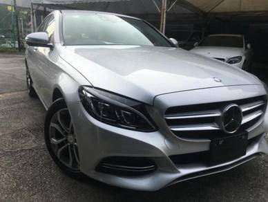 2014 Mercedes Benz C200 AVANTGARDE (CBU) 2.0 (A)