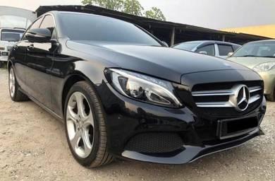 2016 Mercedes Benz C200 AVANTGARDE 2.0 (A) F/SERV