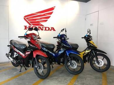 Honda Wave Alpha ( 0 Deposit & Ready Stock ) !!