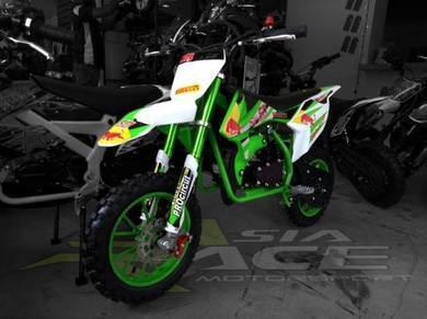 Mini Dirt Bike PS3 Green ( new arrival )