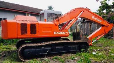 Hitachi EX200 Excavator For Sales Direct Owner