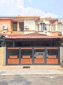 2 storey, FACING OPEN, Taman Menegon Indah, Shah Alam.5 mmt ke i-city