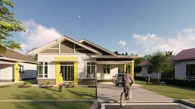 Rumah Banglo Moden Dekat SHELL Baung Kota Bharu