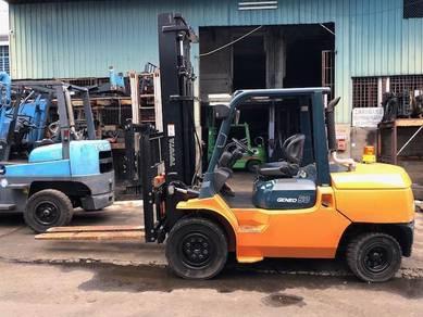 Japan Direct Import 5 Ton TOYOTA Forklift 7FDA50