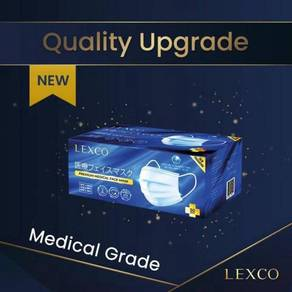 LEXCO - Medical Surgical Grade Face Mask 5 Colors