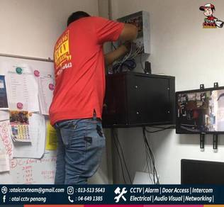 Pakej CCTV Alarm system Access Control Networking