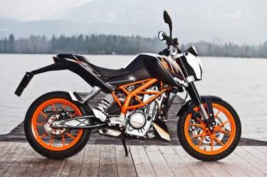 KTM duke 390 (bad payment record BOLEH apply)