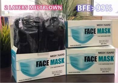 Meltblown Tech SGS Tested Face Mask - 50pcs
