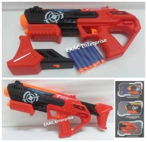Super Shoot Manual Soft Foam Bullet Gun Pistol