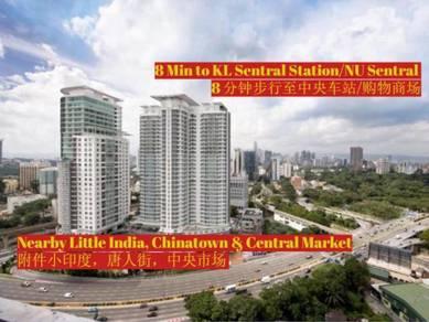 Dua Sentral Service Apartment for Rent (Near KL Sentral)