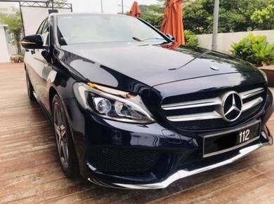2017 Mercedes Benz C200 2.0 AMG LINE (CKD) (A)