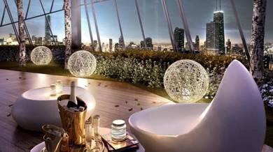 0% dp, freehold, fully furnished, klcc view, setapak, kl