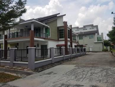 Double Storey Terrace End Lot Nusari Aman For Sale Bandar Sri Sendayan