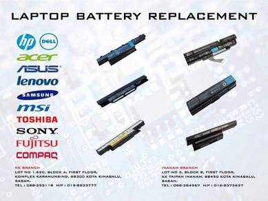 Laptop battery replacement ( new ) all models