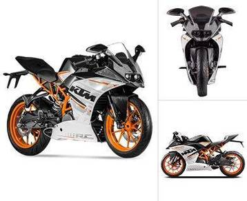 Ktm rc390 abs (bad payment record BOLEH apply)