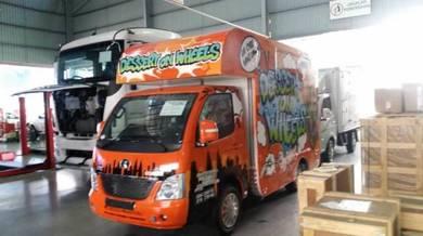Food truck chana era baru dan used jual murah