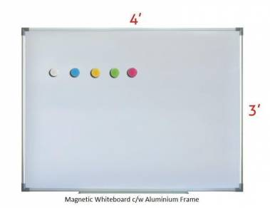 Magnetic Whiteboard 3'x4'~Free Delivery & Install
