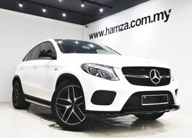 2017/19 Mercedes GLE43 Coupe AMG 4MATIC 3.0 9Speed
