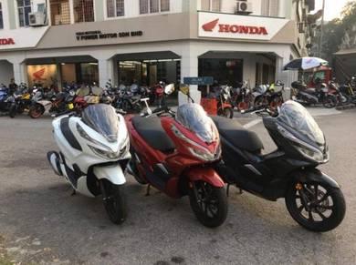 Honda PCX 150 ( Full Loan & Ready Stock )