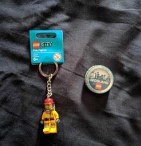 Original lego city fire fighter Minifigure Legolan