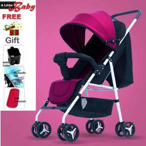 Soft Fabric Baby Stroller