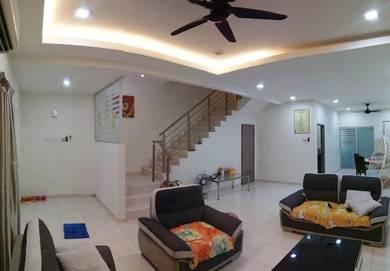 Nusa Sentral bukit indah Skudai Gelang Patah Terrace House FOR SALE